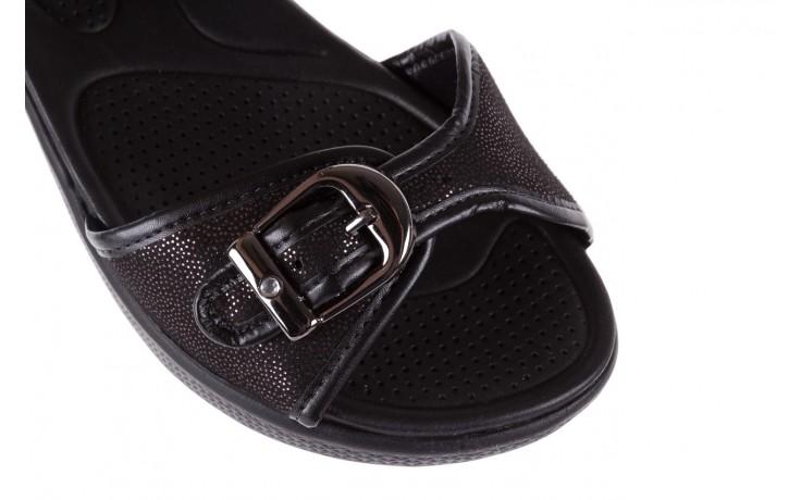 Sandały azaleia 355 789 point black, czarny, materiał - azaleia - nasze marki 5