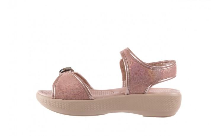 Sandały azaleia 355 789 point rose, róż, materiał  - sandały - letnie hity cenowe 2