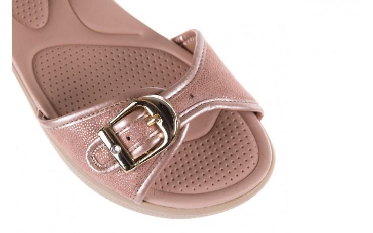 Sandały azaleia 355 789 point rose, róż, materiał  - sandały - letnie hity cenowe 5