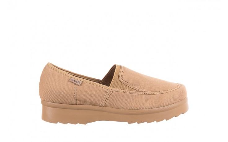 Półbuty azaleia 630 187 beige, beż, materiał  - obuwie sportowe - dla niej - dodatkowe -10%