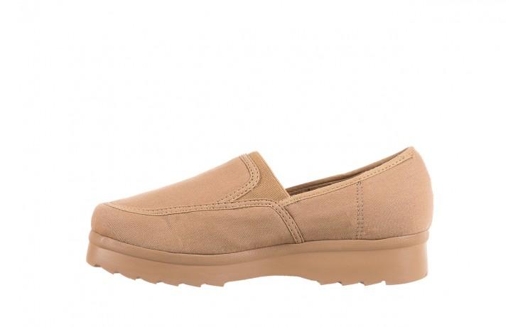 Półbuty azaleia 630 187 beige, beż, materiał  - obuwie sportowe - dla niej - dodatkowe -10% 2
