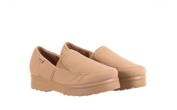 Półbuty azaleia 630 187 beige, beż, materiał  - obuwie sportowe - dla niej - dodatkowe -10% 1