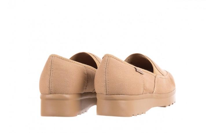 Półbuty azaleia 630 187 beige, beż, materiał  - obuwie sportowe - dla niej - dodatkowe -10% 3