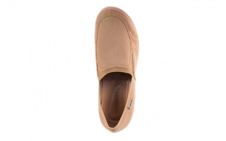 Półbuty azaleia 630 187 beige, beż, materiał  - obuwie sportowe - dla niej - dodatkowe -10% 6