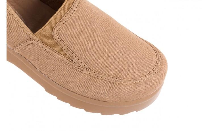 Półbuty azaleia 630 187 beige, beż, materiał  - obuwie sportowe - dla niej - dodatkowe -10% 4