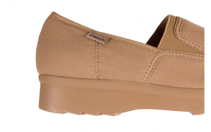 Półbuty azaleia 630 187 beige, beż, materiał  - obuwie sportowe - dla niej - dodatkowe -10% 5