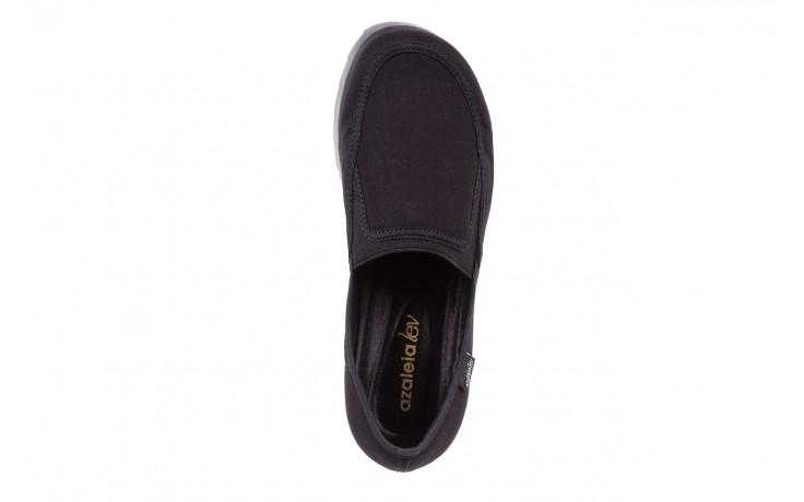 Półbuty azaleia 630 187 black, czarny, materiał  - azaleia - nasze marki 6