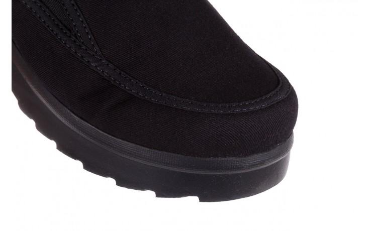 Półbuty azaleia 630 187 black, czarny, materiał  - azaleia - nasze marki 5