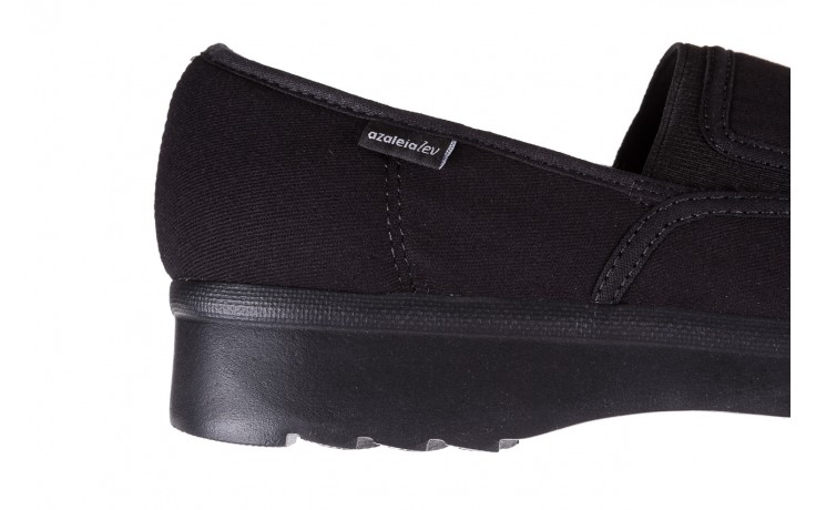 Półbuty azaleia 630 187 black, czarny, materiał  - azaleia - nasze marki 4