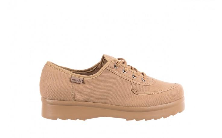 Półbuty azaleia 630 189 beige, beż, materiał  - sznurowane - półbuty - buty damskie - kobieta