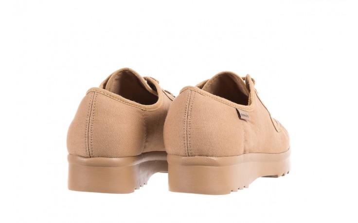 Półbuty azaleia 630 189 beige, beż, materiał  - sznurowane - półbuty - buty damskie - kobieta 3