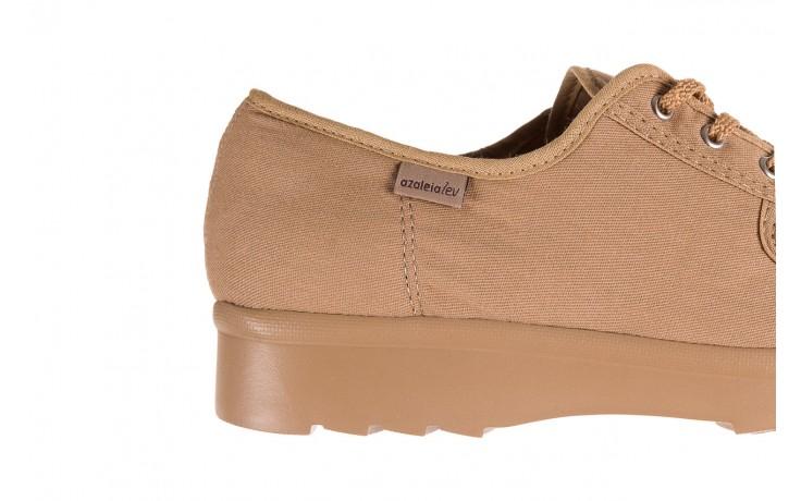 Półbuty azaleia 630 189 beige, beż, materiał  - sznurowane - półbuty - buty damskie - kobieta 4