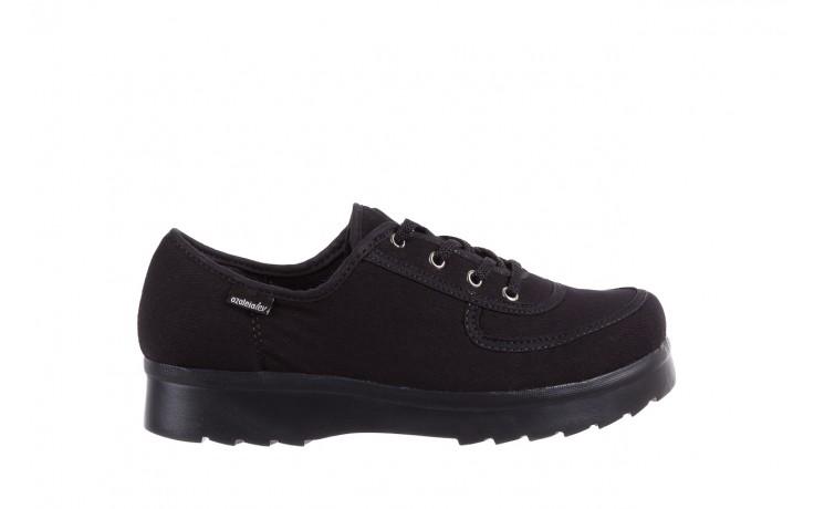 Półbuty azaleia 630 189 black, czarny, materiał  - azaleia - nasze marki