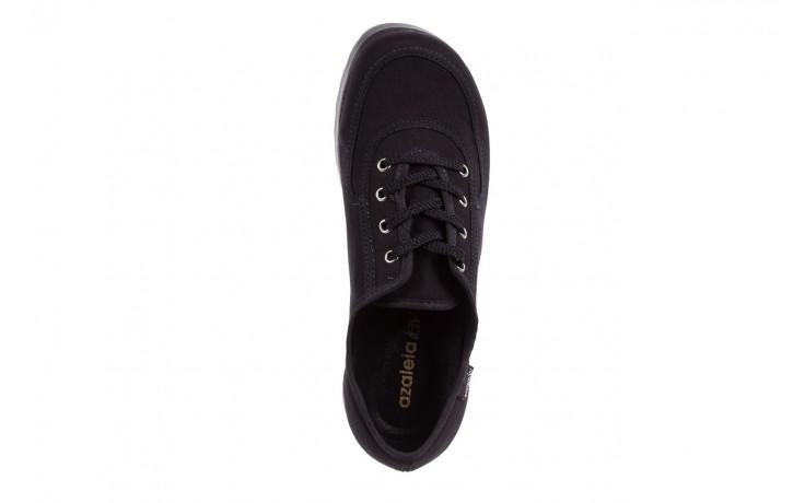 Półbuty azaleia 630 189 black, czarny, materiał  - azaleia - nasze marki 6
