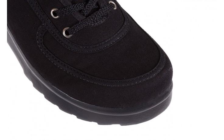 Półbuty azaleia 630 189 black, czarny, materiał  - azaleia - nasze marki 5
