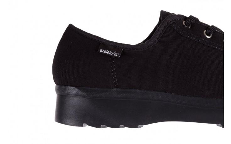 Półbuty azaleia 630 189 black, czarny, materiał  - azaleia - nasze marki 4