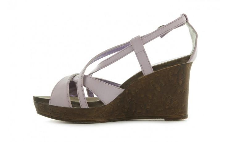 Sandały azaleia 633-love630 lilac, fiolet, skóra ekologiczna - dijean - nasze marki 2