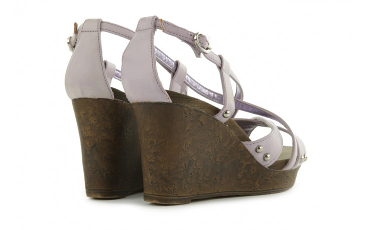 Sandały azaleia 633-love630 lilac, fiolet, skóra ekologiczna - dijean - nasze marki 3