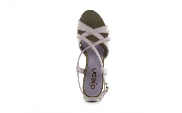 Sandały azaleia 633-love630 lilac, fiolet, skóra ekologiczna - dijean - nasze marki 4