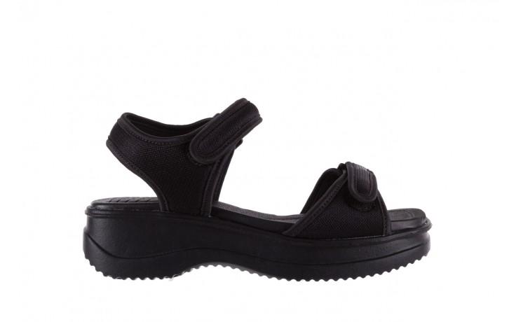 Sandały azaleia 320 321 black 18, czarny, materiał - azaleia - nasze marki