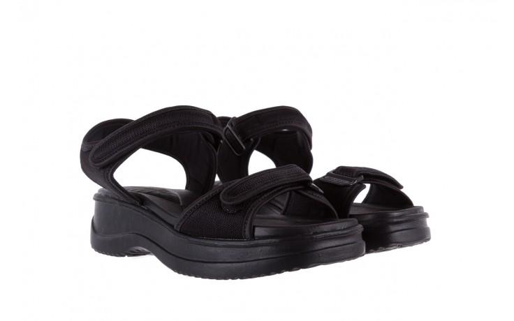 Sandały azaleia 320 321 black 18, czarny, materiał - azaleia - nasze marki 1