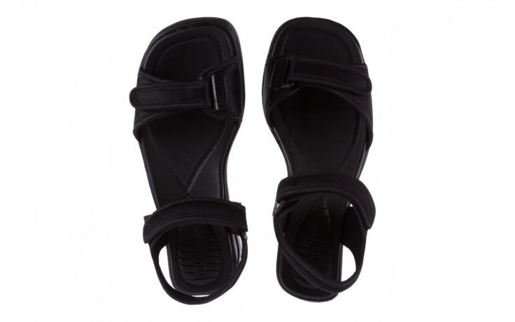 Sandały azaleia 320 321 black 18, czarny, materiał - azaleia - nasze marki 4