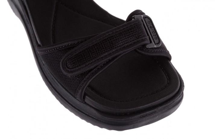 Sandały azaleia 320 321 black 18, czarny, materiał - azaleia - nasze marki 5