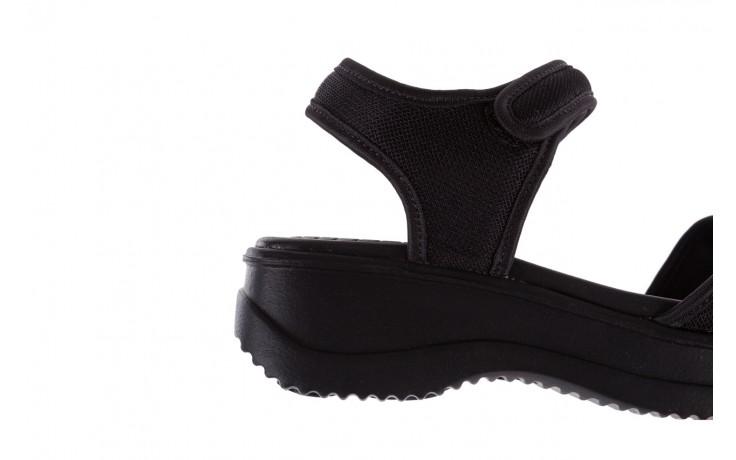 Sandały azaleia 320 321 black 18, czarny, materiał - azaleia - nasze marki 6