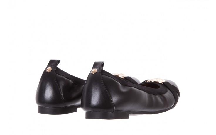 Baleriny bayla-018 07133-x11 black, czarny, skóra naturalna  - bayla - nasze marki 3