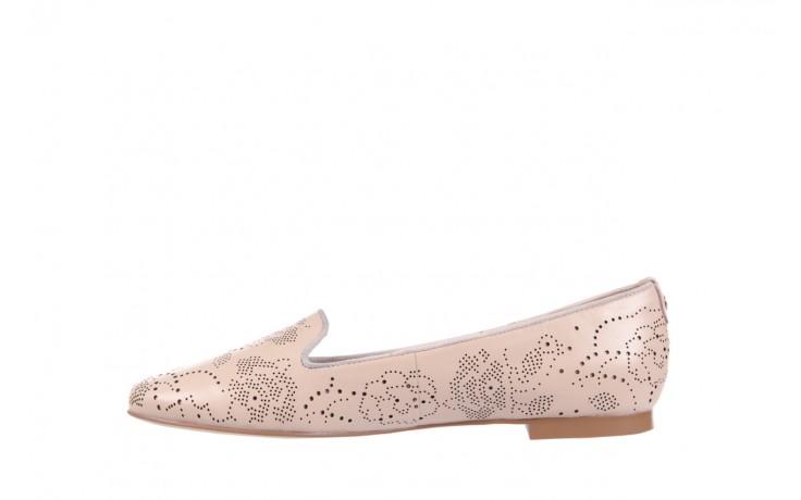 Baleriny bayla-018 1063-272 light pink, róż, skóra naturalna - bayla - nasze marki 2