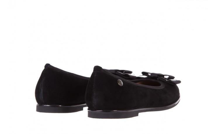Baleriny bayla-018 1063-303 black, czarny, skóra naturalna  - skórzane - baleriny - buty damskie - kobieta 4