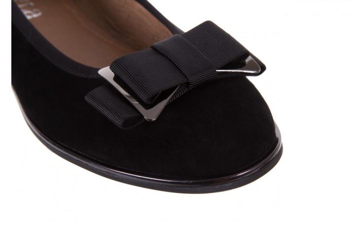 Baleriny bayla-018 1063-303 black, czarny, skóra naturalna  - skórzane - baleriny - buty damskie - kobieta 5