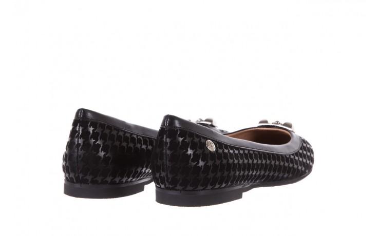 Baleriny bayla-018 1063-x45 black, czarny, skóra naturalna - bayla - nasze marki 3