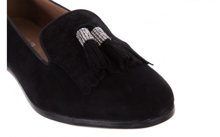 Lordsy bayla-018 1133-178 black, czarny, skóra naturalna - bayla - nasze marki 5