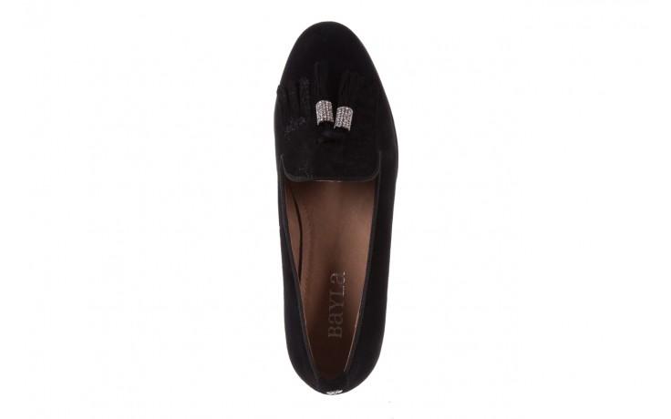 Lordsy bayla-018 1133-178 black, czarny, skóra naturalna - bayla - nasze marki 4