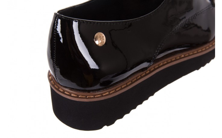 Półbuty bayla-018 1133-x57 burgundy black, bordo/czarny, skóra naturalna lakierowana  - bayla - nasze marki 6