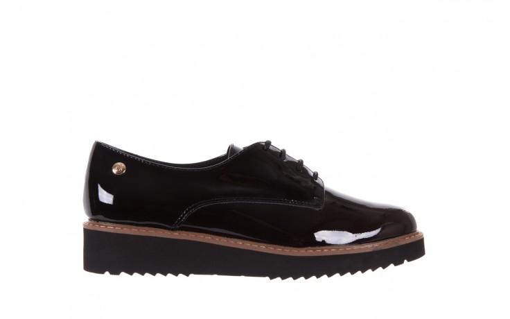Półbuty bayla-018 1133-x57 burgundy black, bordo/czarny, skóra naturalna lakierowana  - bayla - nasze marki