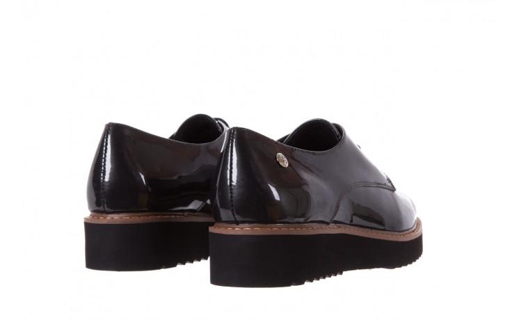 Półbuty bayla-018 1133-x57 grey black, szary/czarny, skóra naturalna lakierowana - bayla - nasze marki 3