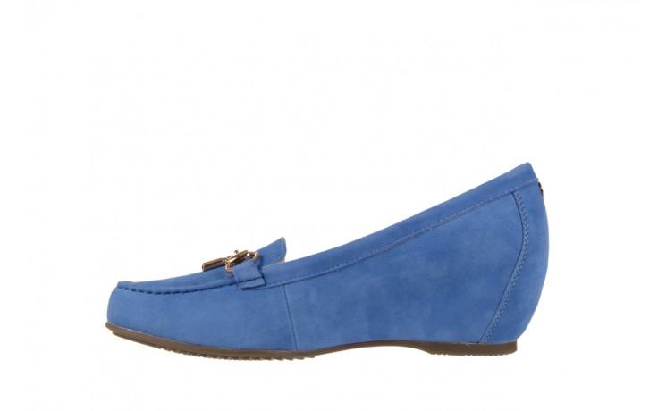 Mokasyny bayla-018 1647-12 royal blue, niebieski, skóra naturalna - bayla - nasze marki 2