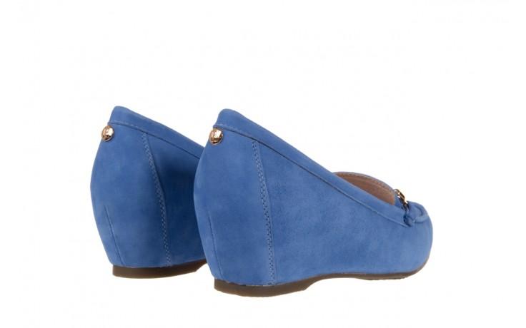 Mokasyny bayla-018 1647-12 royal blue, niebieski, skóra naturalna - bayla - nasze marki 3
