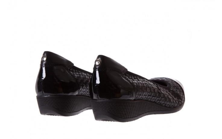Baleriny bayla-018 1759-5 black, czarny, skóra naturalna - bayla - nasze marki 3