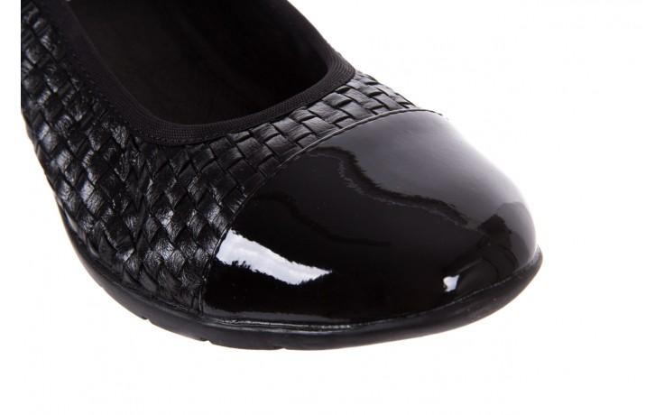 Baleriny bayla-018 1759-5 black, czarny, skóra naturalna - bayla - nasze marki 5
