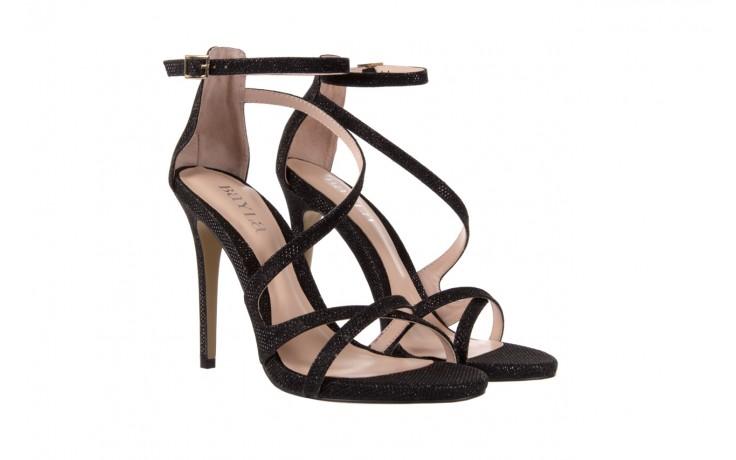 Sandały bayla-018 anna3-1 black 17 018546, czarny, skóra naturalna  - bayla - nasze marki 1
