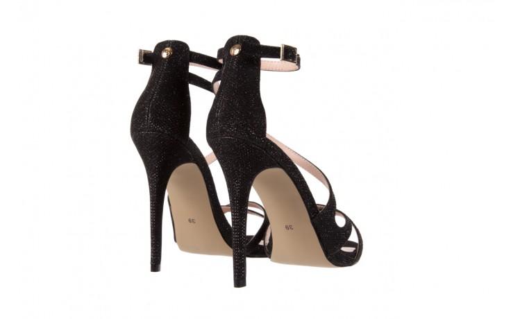 Sandały bayla-018 anna3-1 black 17 018546, czarny, skóra naturalna  - bayla - nasze marki 3