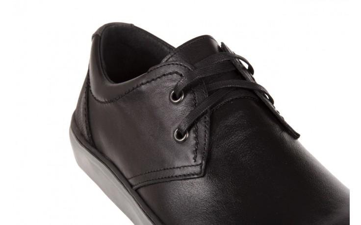Półbuty bayla-051 213 lira czarna sat.czarna, skóra naturalna  - bayla - nasze marki 5