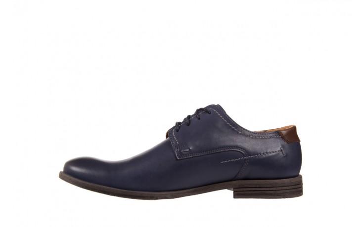 Półbuty bayla-051 216 bufallo niebieski-czekolada, granat, skóra naturalna  - obuwie wizytowe - buty męskie - mężczyzna 2