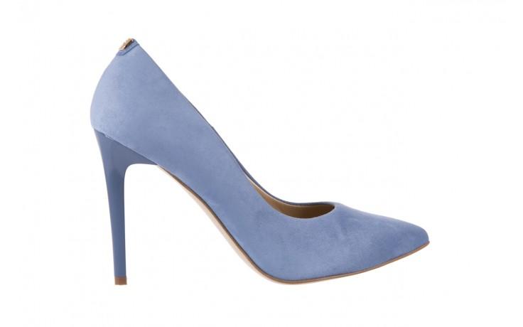 Szpilki bayla-056 1810-605 niebieski, skóra naturalna - 10% - halloween do -30%