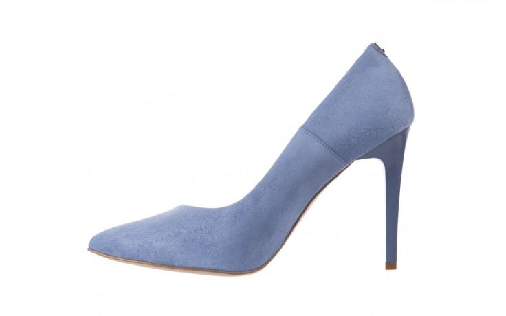 Szpilki bayla-056 1810-605 niebieski, skóra naturalna - 10% - halloween do -30% 2