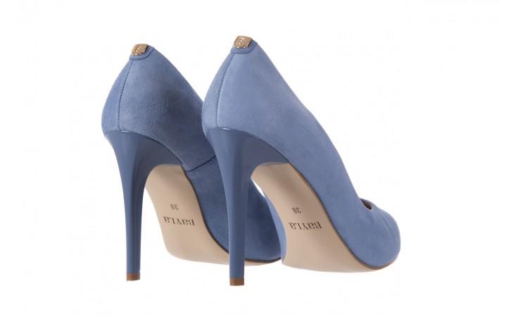Szpilki bayla-056 1810-605 niebieski, skóra naturalna - 10% - halloween do -30% 3