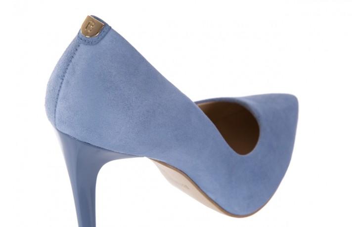 Szpilki bayla-056 1810-605 niebieski, skóra naturalna - 10% - halloween do -30% 5